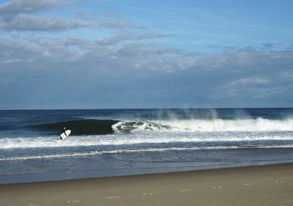 Barrel surfen