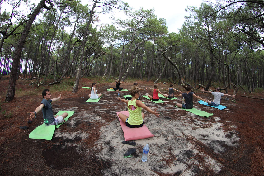 Yoga im Surfcamp