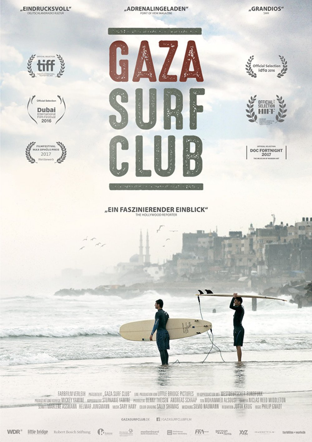 GAZA SURF CLUB Surffilm 2017