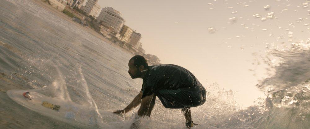 Surf Community Surfer im Gaza Streifen