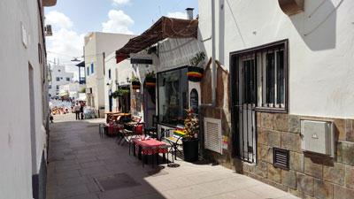 Überall in Corralejo gibt es Bars und Restaurants zu entdecken