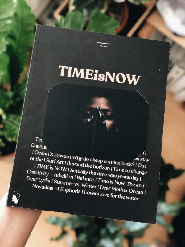 Zeitschrift Time is now