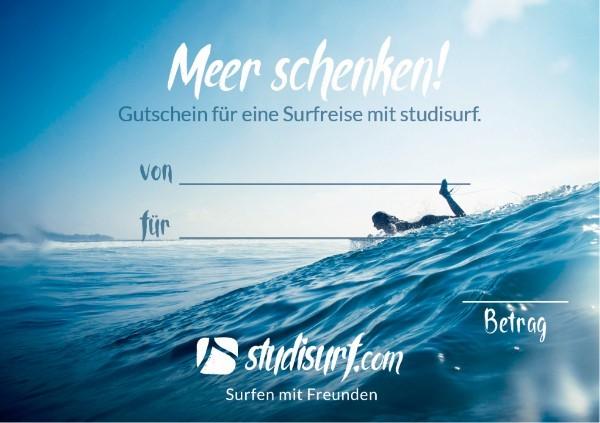 Meer schenken - Das Geschenk für Surfer/innen!