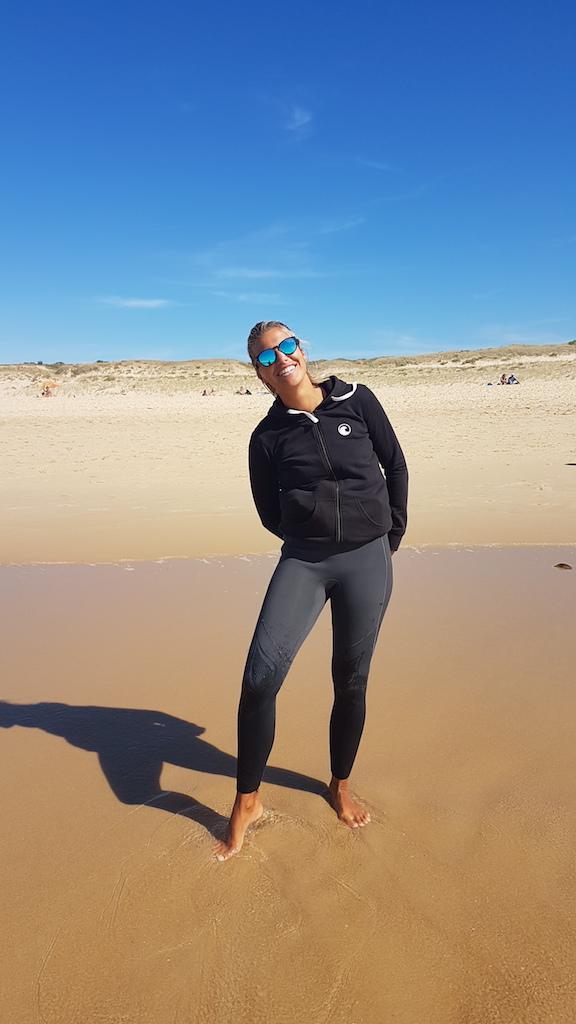 Leonie, Surf-Headcoach Vieux Boucau